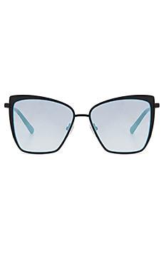 Фото - Солнцезащитные очки becky - DIFF EYEWEAR черного цвета