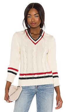 Shrunken Tennis Sweater Denimist $246