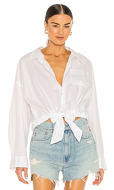 Front Tie Shirt Denimist $195