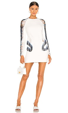Fringe Loop Mini Dress Dion Lee $990
