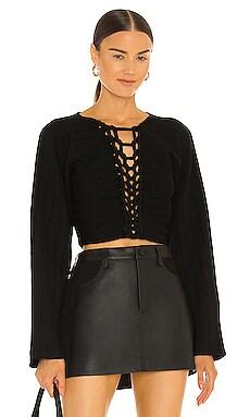 V Neck Braid Sweater Dion Lee $590