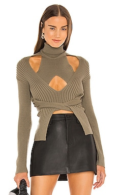 Cable Tie Sweater Dion Lee $590