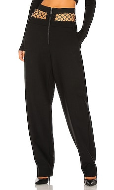 Fishnet Tailored Pant Dion Lee $950 NEW