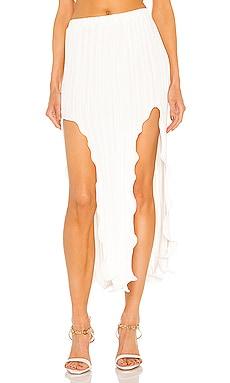 Fluted Slit Skirt Dion Lee $690