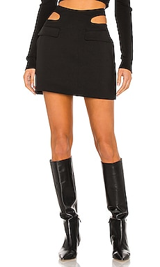Y Front Mini Skirt Dion Lee $490