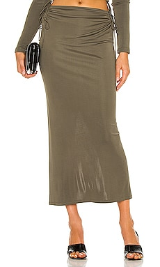 Wire Jersey Skirt Dion Lee $590 NEW