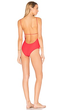 Fine Line One Piece in Pink