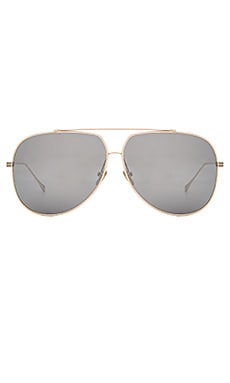 Dita Condor Sunglasses in Gold & Silver Mirror Lenses