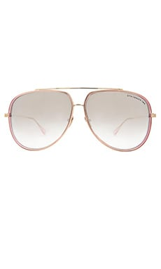 Dita Condor-Two in Pink Crystal & Milky Gold Flash Lens