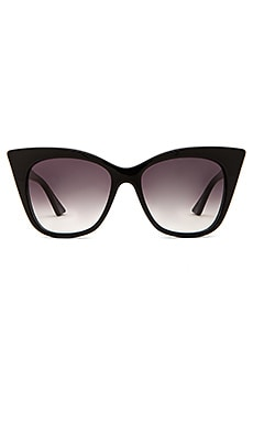 Dita Magnifique in Black Swirl & Grey Gradient Lens