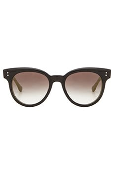 Dita Sunspot Sunglasses in Black & Dark Grey