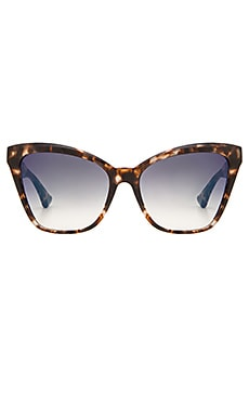 Dita Superstition Sunglasses in Cream Tortoise & Dark Grey