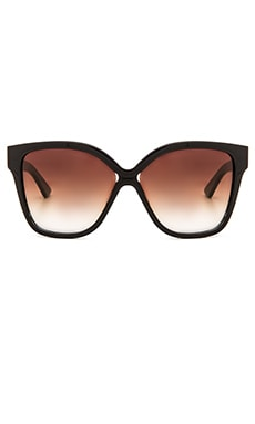 Paradis Sunglasses in Navy & Dark Brown