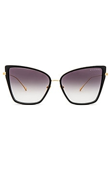 Sunbird Sunglasses en Noir & Or 18ct