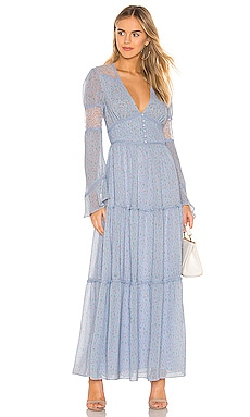 Button Up Maxi Dress Divine Heritage $357