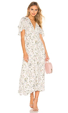 Flutter Midi Dress Divine Heritage $186