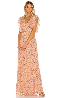Sweet Virginia Ditsy Maxi Dress Divine Heritage $194