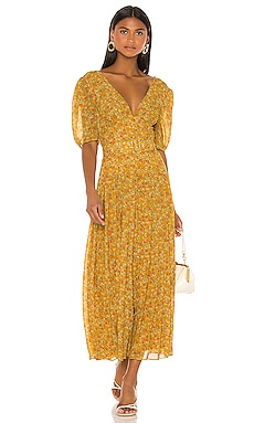 Sweet Virginia Ditsy Maxi Dress Divine Heritage $565