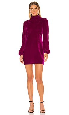 Mock Neck Mini Dress Divine Heritage $395