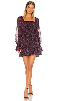 Square Neck Mini Dress Divine Heritage $425