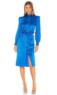 Shirt Dress With Belt Divine Heritage $495 NEW ARRIVAL