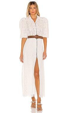 Belted Short Sleeve Dress Divine Heritage $535