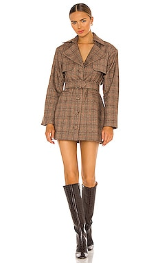 Blazer Trench Mini Dress Divine Heritage $278