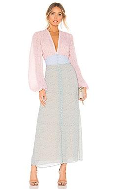 Long Sleeve Midi Dress Divine Heritage $545