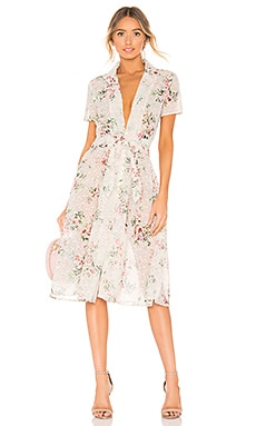Collared Button Up Dress Divine Heritage $495