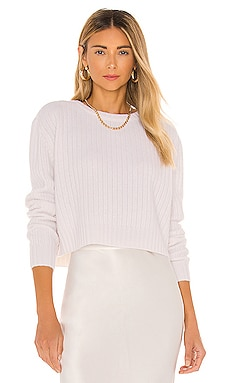 Cropped Cashmere Sweater Divine Heritage $350 BEST SELLER