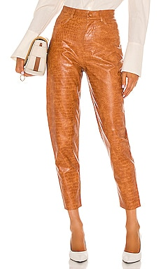High Waisted Tapered Leg Pant Divine Heritage $325