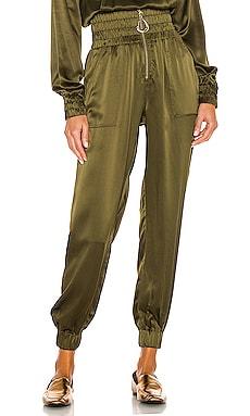 x REVOLVE Silk Jogger Divine Heritage $395