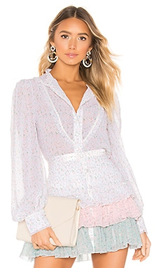Button Up Blouse Divine Heritage $177