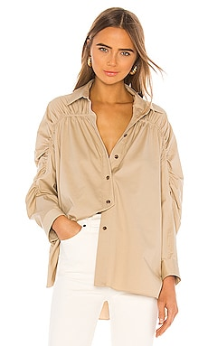 Ruched Blouse Divine Heritage $265