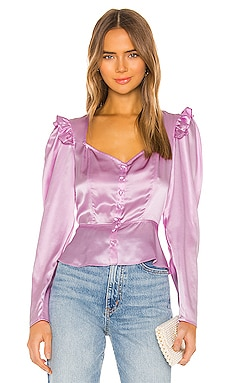 Sweetheart Neckline Blouse Divine Heritage $89