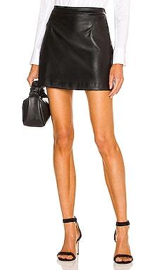 X REVOLVE Faux Leather Skirt Donna Karan $175