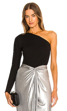 X REVOLVE One Shoulder Top Donna Karan $225