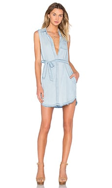 DL1961 Crosby & Broome Sleeveless Dress in Midwash