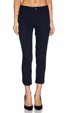 DL1961 Bardot High Rise Crop Skinny in Flat Iron