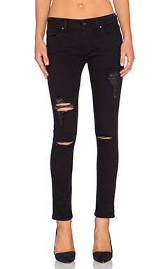 DL1961 Emma Skinny Legging in Slashed