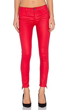 DL1961 Margaux Coated Skinny in Fuego