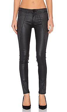 DL1961 Emma Coated Skinny in Rockstar