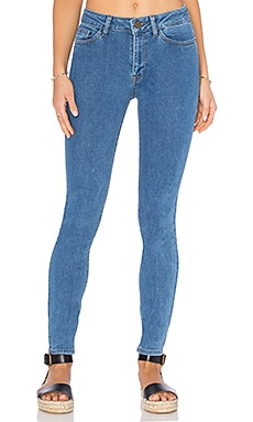 DL1961 Farrow Instaslim High Rise Skinny in Ringwald