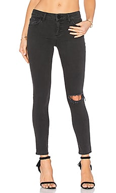 DL1961 Margaux Ankle Skinny in Busted