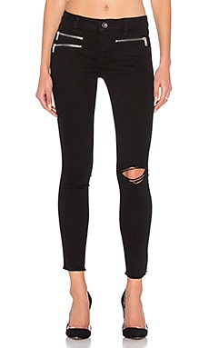 x Jessica Alba No. 3 Instasculpt Zip Pocket Skinny en Shadow