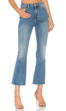 JEAN FLARE CROPPED JACKIE