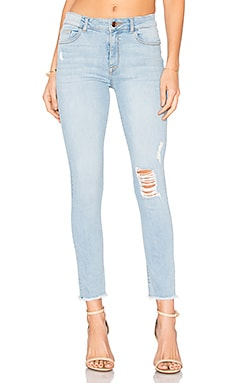 Farrow High Rise Skinny in Trophy
