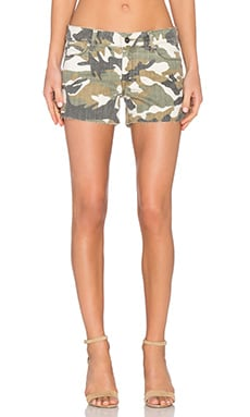 DL1961 Renee Cut-Off Shorts in Canteen