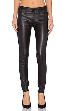 DL1961 Florence Leather Skinny in Radar