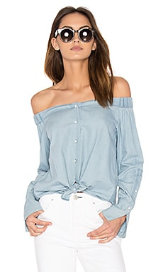 East Hampton Off Shoulder Top in Midwash